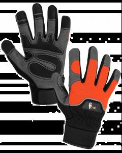 Rękawice ochronne monterskie marki CXS, model Puno