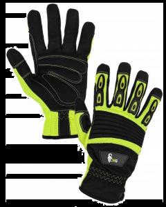 Rękawice ochronne monterskie marki CXS, model YEMA