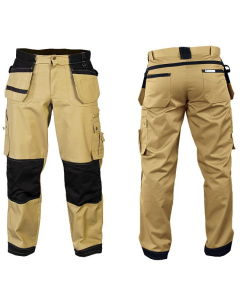 Spodnie robocze monterskie marki LEBER&HOLLMAN, model ROFTER