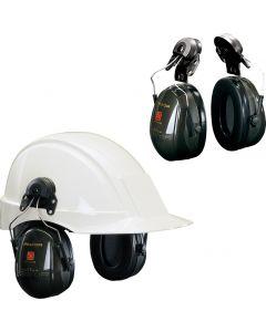 Ochronniki słuchu nahełmowe, dielektryczne Peltor™ OPTIME™ II